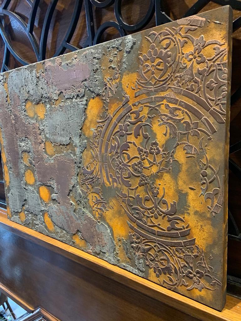 Ultra Finishes Venetian Plaster Canvas Art Work 3