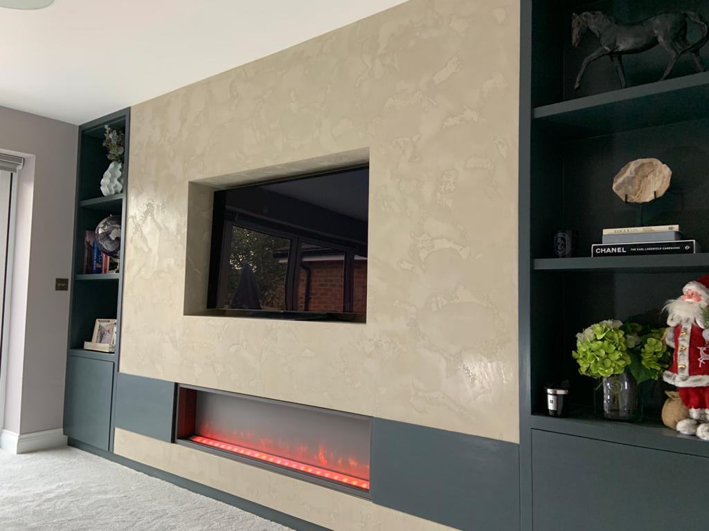 Ultra Finishes - Luxury Venetian Plaster Fire Places